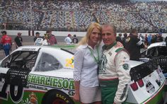 Derrike and Elyshia Cope Derrike Cope, All Natural Cleaners, Nascar, Biodegradable Products, Monster Trucks, Racing, Running, Auto Racing