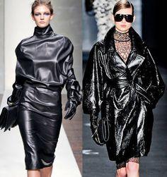 black leather F/W 2012/13