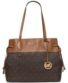MICHAEL Michael Kors Marina North South Large Drawstring Tote - All Handbags - Handbags & Accessories - Macy's