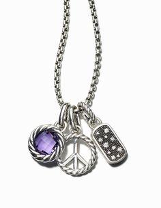 love this necklace...David Yurman again.