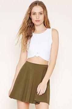 Comes in many colors Mini Skater Skirt | Forever 21 - 2000167700
