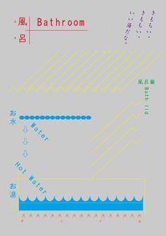 Japanese Poster: Feel Good Bath. Tadashi Ueda. 2012