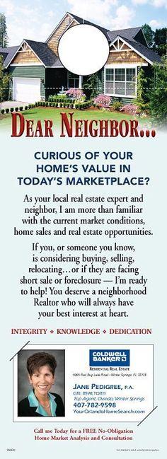ReaMark Real Estate Door Hanger - Get noticed in your neighborhood How to Invest