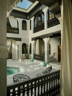 Luxury staying in Morocco.