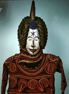 Igbo Agbogho Mmuo (maiden spirit) mask. Photo: Musee des Arts d'Afrique et d'Oceanie, Paris, France / Giraudon / Bridgeman Images.