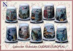 Os presentamos la colección Ciudades europeas exclusiva de Gritos de Madrid. El diseño, como de costumbre, a cargo de Nacho Fernández. Hemos hecho una selección que se irá completando en los próximos meses con alguna ciudad más. Espero que os gusten. Si queréis podéis reservar ya la vuestra. El precio de la colección completa es de 36€