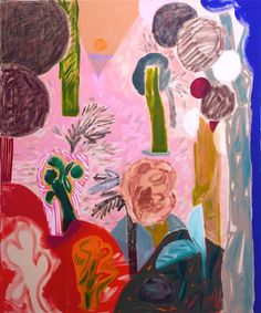 Shara Hughes: The Right Way Out, 48x40