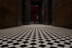 Design Interieur Lobby Bar Montréal  #bar #montreal #design #plateau #plancher #tuiles #italie #vintage   www.lobbybar.ca