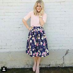 #saia #floral #rosa #lookromantico #modasud