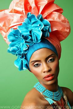 Photographer: Michael D. Ward / Go ForWard Photography Model: Joan Kahiu Makeup: Jessie Campbell Stylist: Andrea D. Wynn Headwear: Peacock Blue Design Studio using headwrap fabric from Exquisite African Collections africanheadwrap, fashion, dmvfashion, beauty, Dutch waxed fabric