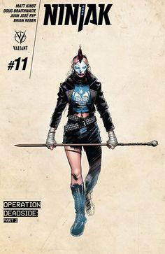 Preview: Ninjak #11, Story: Matt