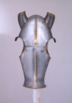 Shaffron from an armour of King Henry VIII. English, Greenwich, 1540