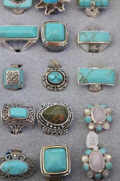 turquoise. I'll take any of it since turquoise is my favorite of favorites