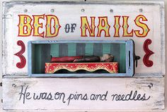 Bed Of Nails 2 by homemadecircus on Etsy, $375.00