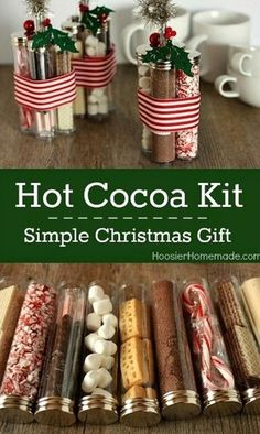 DIY Hot Cocoa Kit - DIY Stocking Stuffers Your Family Members Will Actually Like - Photos
