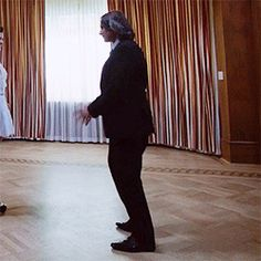 Funniest gif ever. I loved this blooper. That moment you realize it's one of those that'll dance to any song..