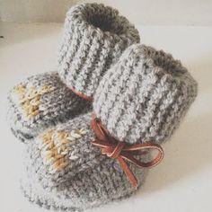 LITTLE ONE LOVE / handmade booties from @Joya Logue