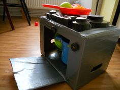 cooker - box and assembly tape