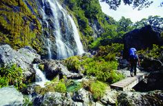 Next trip to NZ, I want to do one of these Treks...  Ebook: 9 Great Walks Of New Zealand http://newzealandwalkingtours.com/ebook/
