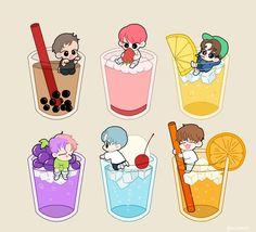Cute!! Vixx Wallpaper, Journaling, Zelda Tattoo, Kawaii Anime Girl, Cute Food, Printable Planner, Cute Drawings, Cute Art, Kpop