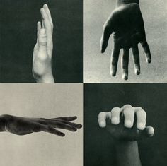 'Hands, a Point of View', Collage art, black and white photo Bruno Munari Body Photography, White Photography, Sequence Photography, Photomontage, Belle Photo, Drawing Reference, Collage Art, Collages, Art Direction