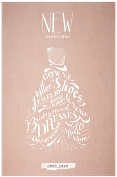 New Markdowns - Shop Sale | BHLDN email campaign