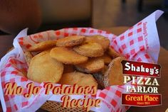 Shakey's MoJo Potatoes Recipe