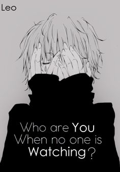 Anime Quote..Who are You?