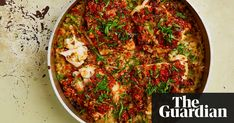 Yotam Ottolenghi's cod marinated in pepper and pumpkin seed salsa. Inspired by Hartwood Sesame Recipes, Cod Recipes, Spinach Recipes, Curry Recipes, Meat Recipes, Seafood Recipes, Cooking Recipes, Healthy Recipes, Savoury Recipes
