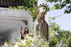 Virgen de Fátima. Puerto de Juviley. #Alpujarra #Granada