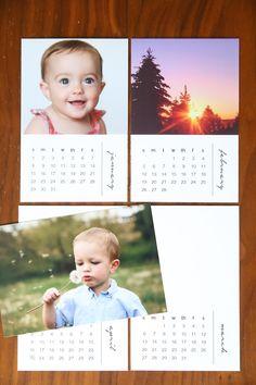 mini-photo-calendar-cards-2017-free-printable-easy-cheap-DIY-handmade-personalized-gift-idea-Christmas-1.jpg (1000×1500)