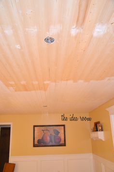 Wood Planks For The Ceiling Evertrue Edge V Groove