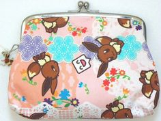 POKEMON CENTER - WALKING ALONG BIG COIN PURSE EEVEE |