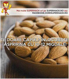 Durere de cap? Un remediu natural şi eficient! - SuperHack.ro Cape, Almond, Natural, Food, Mantle, Cabo, Essen, Almond Joy, Meals