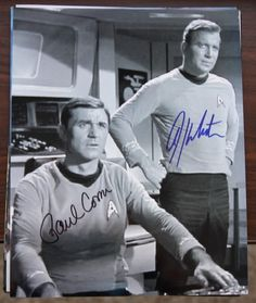 A young James T. Kirk.