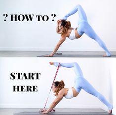 Hip Flexor Stretch: Very open hip flexors #YogaTechniqueAndPostures