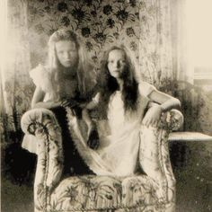 Olga and Tatiana 1906 #russian #grandduchesses #olga #and #tatiana #romanov #beautiful #girls #russianbeauty #gorgeous #picture #of #them #in #1906 #imperial #russia #history #russianroyalty by lovelyotma