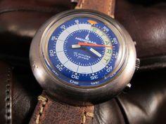 Vintage 1970'S Memosail Yacht Regatta Auto Chronograph Valjoux 7737