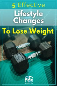 Healthy weight loss tip: here are 6 simple lifestyle changes to lose weight. Use them in your nutrition and daily life and you will lose weight.