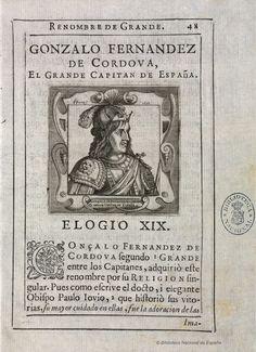 [Retrato de Gonzalo Fernández de Córdoba]. Perret, Pedro m.1639 — Grabado — 1638