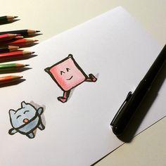 #Dibuixant nous monstres ! #Drawing #new #monsters ! #Dibujando nuevos monstruos ! #illustration #vector #artist #draw #designer #design #graphicdesign #graphics #disseny #dissenygràfic #dessin #cute #sticker #doodle #funny #sketch #art #staedtler #characterdesign #pictoplasma  #creation #creativity #urbanart #staedtler #Itsdesign