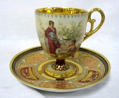 Royal Vienna Tea Cup And Saucer