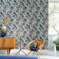 Buy Casamance Toucan Tourterelle 73950133 from the extensive range of Casamance at Select Wallpaper. Wallpaper, Fabric Wallpaper, Decor, Printed Shower Curtain, Rich Home, Interior Styling, Living Etc, Home Decor, Wall Coverings