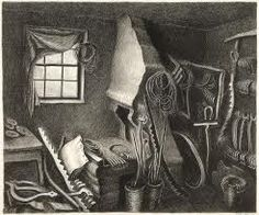 Wanda Gág (American, 1893 - The Forge, lithograph in black on wove paper Art Students League, National Gallery Of Art, Blue Heron, Wood Engraving, Art Studies, Types Of Art, American Artists, Printmaking, Book Art