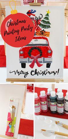 Christmas Painting P