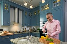 For a chef of his calibre, Michel Roux Jr's home kitchen is surprisingly modern in size. He takes us through it in '<em>Bijoux Beauty'</em>