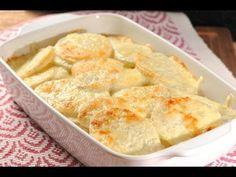 Papas al horno con crema - Baked Potatoes with Cream Potato Recipes, Veggie Recipes, Mexican Food Recipes, New Recipes, Cooking Recipes, Favorite Recipes, Healthy Recipes, Good Food, Yummy Food