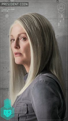 Character Portraits found in District 13 schematic: President Alma Coin
