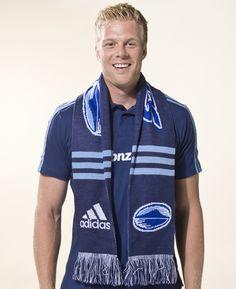 Blues scarf - $40