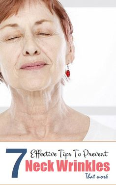 7 Effective Tips To Prevent Neck Wrinkles..